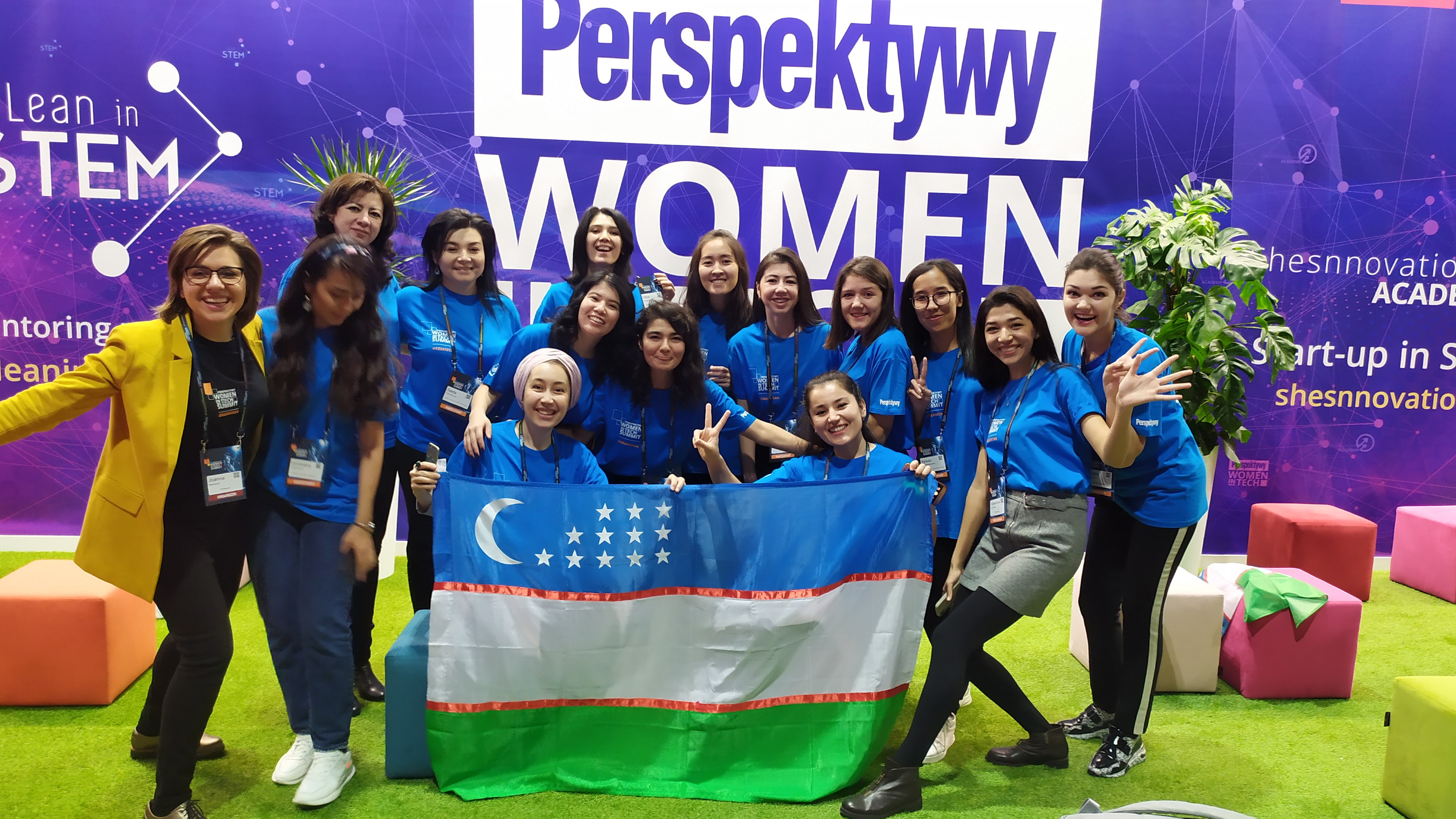 UZBEK APPLICANTS ARE WELCOME TO STEM